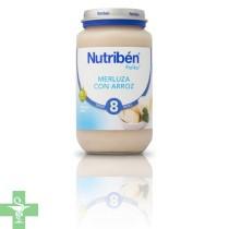 NUTRIBEN MERLUZA CON ARROZ - (POTITO GRANDOTE 250 G )