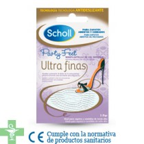 SCHOLL PARTY FEET MINI PLANTILLAS GEL - (ULTRAFINAS )