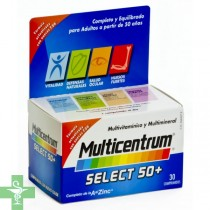 MULTICENTRUM SELECT 50+ - (30 COMP )