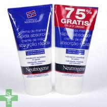 Neutrogena duplo Crema de Manos Rápida Absorción 75 ml