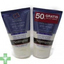 Neutrogena crema de manos anti-edad spf25 duplo 2x50ml