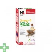 NS Omega-3 Chia 120 cápsulas