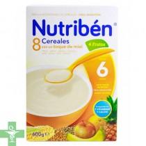 Nutriben 8 Cereales, Miel y 4 Frutas.