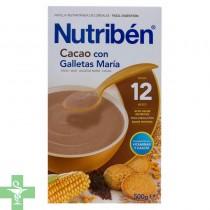 Nutriben Cacao Con Galletas María 500G