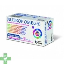 Nutrof Omega  36 cápsulas + REGALO 12 cápsulas