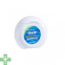 ORAL-B ESSENTIAL FLOSS FLUOR - SEDA DENTAL CON CERA (MENTA 50 M )