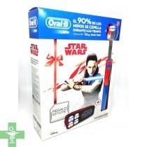 Oral B Cepilo Eléctrico Recargable Vitality Stages Star Wars+ Regalo Estuche Escolar