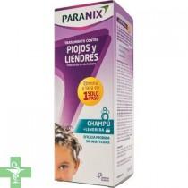Paranix Champú Tratamiento Contra Piojos y Liendres 200 ml + Lendrera