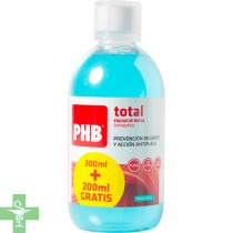 PHB Total Enjuague Bucal Antiseptico 500ml