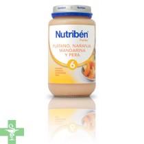 NUTRIBEN PLATANO NARANJA MANDARINA Y PERA - (POTITO GRANDOTE 250 G )