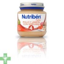 NUTRIBEN POLLO JAMON VERDURA - (POTITO INICIO 130 G )