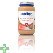 NUTRIBEN POLLO TERNERA A LA CASERA - (POTITO GRANDOTE 250 G )