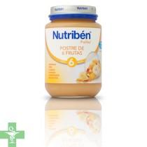 NUTRIBEN POSTRE DE 6 FRUTAS CON CEREALES - (POTITO GRANDOTE 250 G )