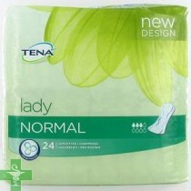 Absorbente Incontinencia Orina Ligera - TENA LADY NORMAL (24 U )