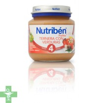 NUTRIBEN VERDURAS - (POTITO INICIO 130 G )