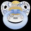 NUK pack chupete anatómico látex 6-18 meses 2 U